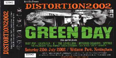 20 July 2002: Distortion 2002 - Wollaton Park, Nottingham, England, UK