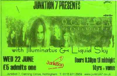 22 June 2005: Octavia Sperati - Junktion 7, Nottingham, England, UK
