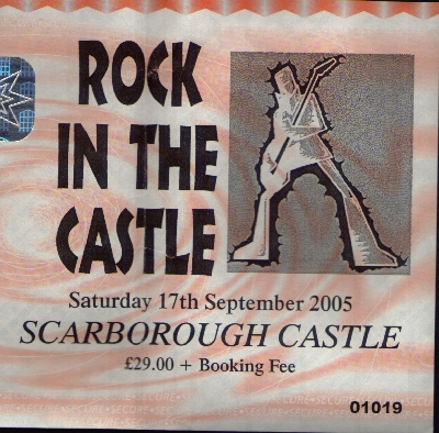 17 September 2005: The Wildhearts, Terrorvision + others – Scarborough Castle, Scarborough, England, UK